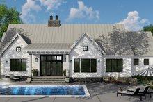 Farmhouse Exterior - Rear Elevation Plan #51-1135