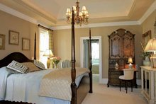 House Design - Country Interior - Master Bedroom Plan #927-274