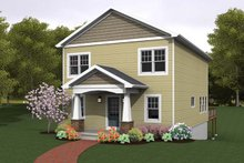 Traditional Exterior - Front Elevation Plan #1010-77