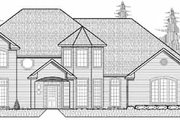 Traditional Style House Plan - 4 Beds 3.5 Baths 4288 Sq/Ft Plan #65-190 Exterior - Front Elevation