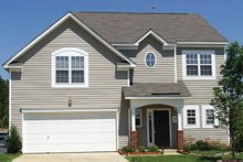 Home Plan - Colonial Exterior - Front Elevation Plan #453-286