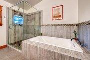 Prairie Style House Plan - 3 Beds 3 Baths 3219 Sq/Ft Plan #1042-18 Interior - Master Bathroom