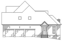House Plan Design - Traditional Exterior - Other Elevation Plan #1054-8