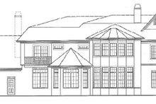 Traditional Exterior - Rear Elevation Plan #54-303