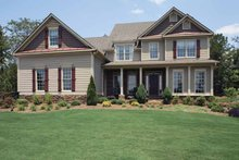 House Plan Design - Country Exterior - Front Elevation Plan #927-164