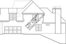 House Plan Design - European Exterior - Other Elevation Plan #927-931