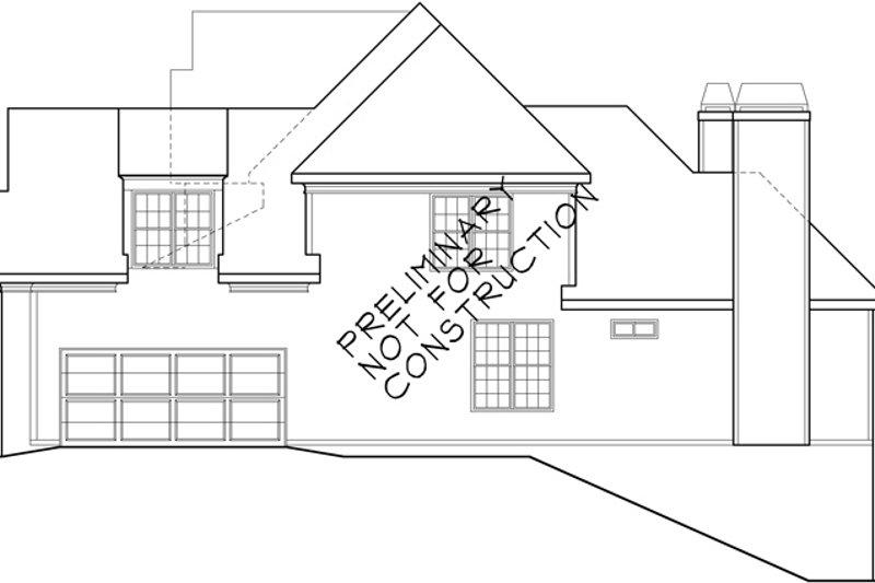 European Exterior - Other Elevation Plan #927-931 - Houseplans.com