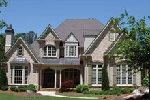 House Plan Design - Traditional Exterior - Front Elevation Plan #54-347