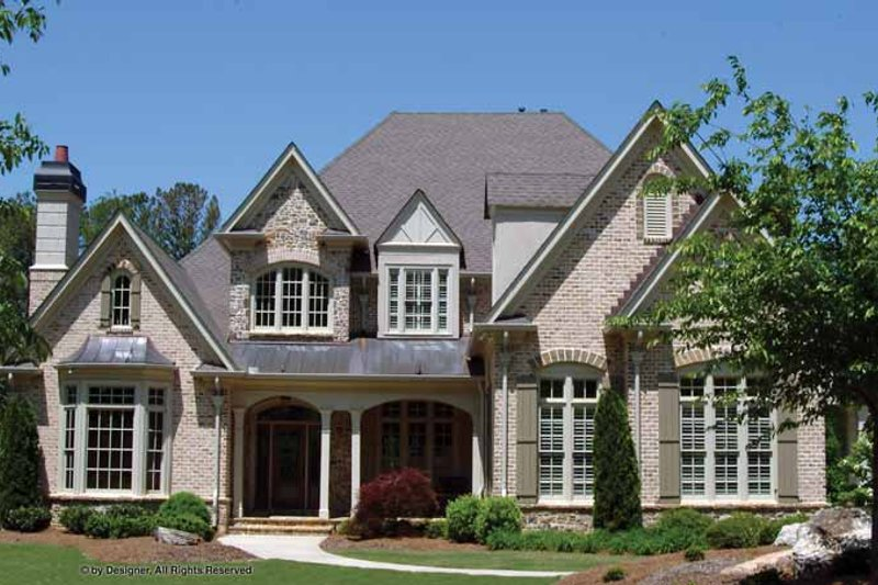 Home Plan - Traditional Exterior - Front Elevation Plan #54-347