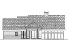 Traditional Exterior - Rear Elevation Plan #119-131