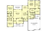 Farmhouse Style House Plan - 3 Beds 2.5 Baths 2468 Sq/Ft Plan #1067-3 Floor Plan - Main Floor Plan