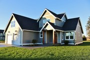Ranch Style House Plan - 3 Beds 2.5 Baths 2004 Sq/Ft Plan #1070-28 Exterior - Front Elevation