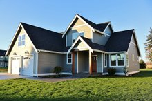 Ranch Exterior - Front Elevation Plan #1070-28