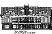 Classical Style House Plan - 3 Beds 3.5 Baths 2834 Sq/Ft Plan #119-158 Exterior - Other Elevation