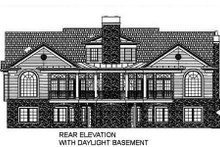 Classical Exterior - Other Elevation Plan #119-158