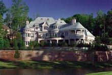 House Design - European Exterior - Rear Elevation Plan #453-50