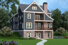 Craftsman Exterior - Front Elevation Plan #419-237