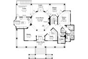 Southern Style House Plan - 3 Beds 3.5 Baths 2756 Sq/Ft Plan #930-18 Floor Plan - Main Floor