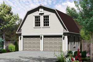 Farmhouse Exterior - Front Elevation Plan #25-4752