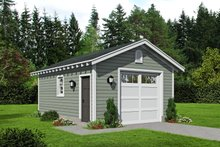 House Plan Design - Country Exterior - Front Elevation Plan #932-362