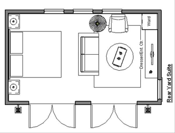 Traditional Floor Plan - Main Floor Plan Plan #499-2