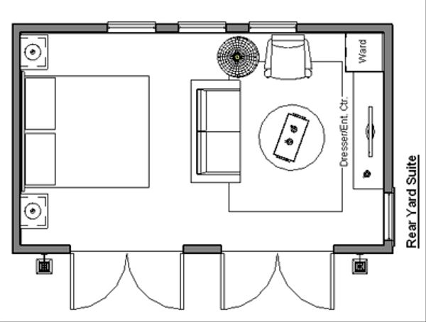 Traditional Floor Plan - Main Floor Plan #499-2