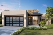 Modern Style House Plan - 2 Beds 2 Baths 1417 Sq/Ft Plan #1073-5 Exterior - Front Elevation