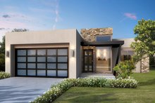 Home Plan - Modern Exterior - Front Elevation Plan #1073-5