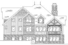 Craftsman Exterior - Rear Elevation Plan #5-378