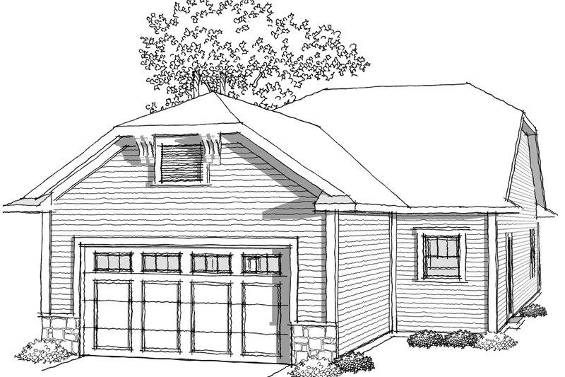 Ranch Photo Plan #70-1024 - Houseplans.com
