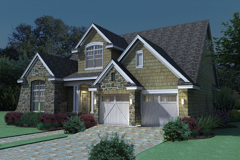House Plan Design - traditional house by David Wiggins 2100sft