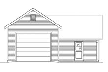 Dream House Plan - Country Exterior - Front Elevation Plan #22-578