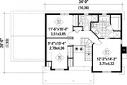Farmhouse Style House Plan - 3 Beds 2 Baths 1621 Sq/Ft Plan #25-4262 Floor Plan - Upper Floor
