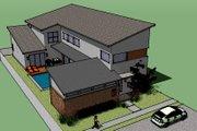 Modern Style House Plan - 3 Beds 3.5 Baths 3400 Sq/Ft Plan #449-2
