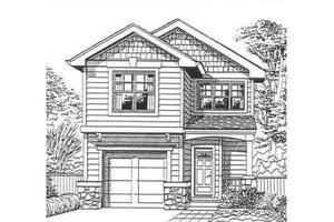 Craftsman Exterior - Front Elevation Plan #53-120