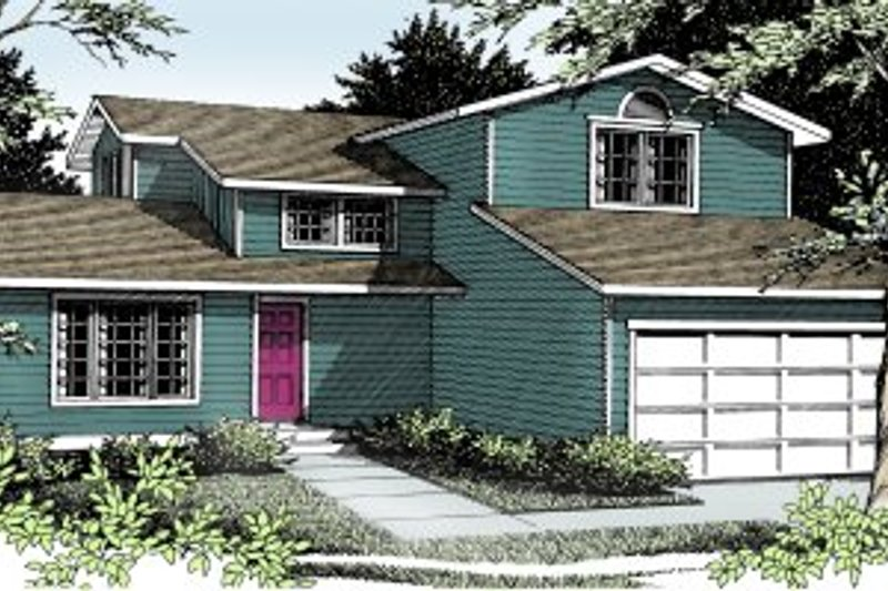 Traditional Exterior - Front Elevation Plan #92-214 - Houseplans.com