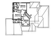 Traditional Style House Plan - 4 Beds 3.5 Baths 2482 Sq/Ft Plan #46-869 Floor Plan - Upper Floor Plan