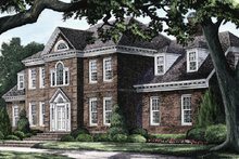Dream House Plan - Southern Exterior - Front Elevation Plan #137-192