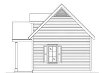 House Plan Design - Cottage Exterior - Other Elevation Plan #22-593