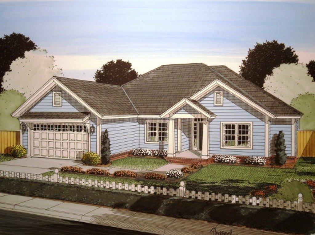 Traditional style house plan 5 beds 3 baths 1988 sq ft for Www homeplans com