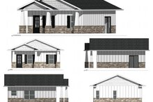 Dream House Plan - Ranch Exterior - Other Elevation Plan #1077-6
