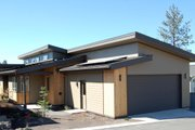 Modern Style House Plan - 3 Beds 2 Baths 1489 Sq/Ft Plan #895-31 Exterior - Rear Elevation