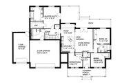 Southern Style House Plan - 4 Beds 3 Baths 2022 Sq/Ft Plan #117-147