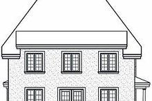 Farmhouse Exterior - Rear Elevation Plan #23-864
