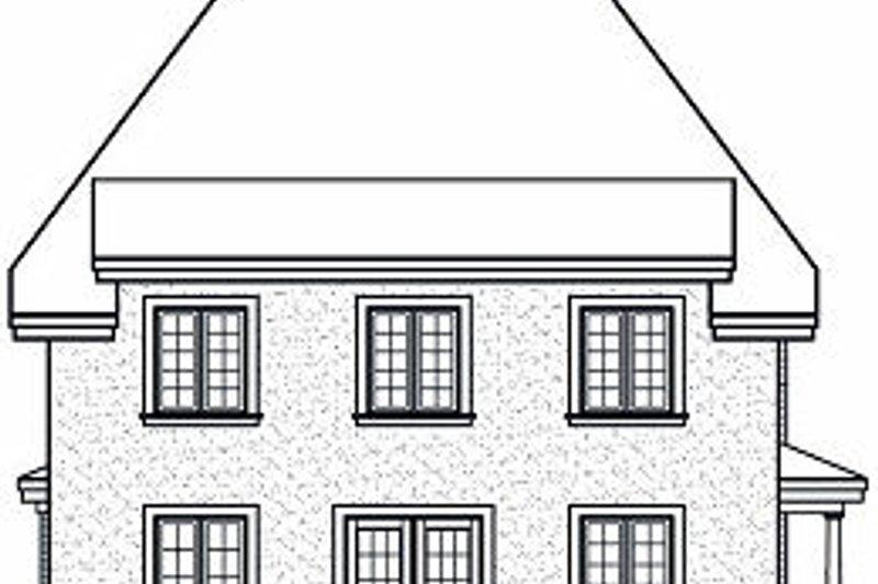 Farmhouse Exterior - Rear Elevation Plan #23-864 - Houseplans.com