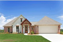 Home Plan - Southern Exterior - Front Elevation Plan #430-183