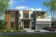 Architectural House Design - Contemporary Exterior - Front Elevation Plan #928-353