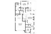 Craftsman Style House Plan - 4 Beds 3.5 Baths 2960 Sq/Ft Plan #48-994 Floor Plan - Main Floor