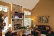 European Style House Plan - 5 Beds 4.5 Baths 3618 Sq/Ft Plan #927-27