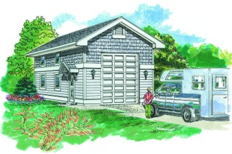 Traditional Exterior - Front Elevation Plan #47-501